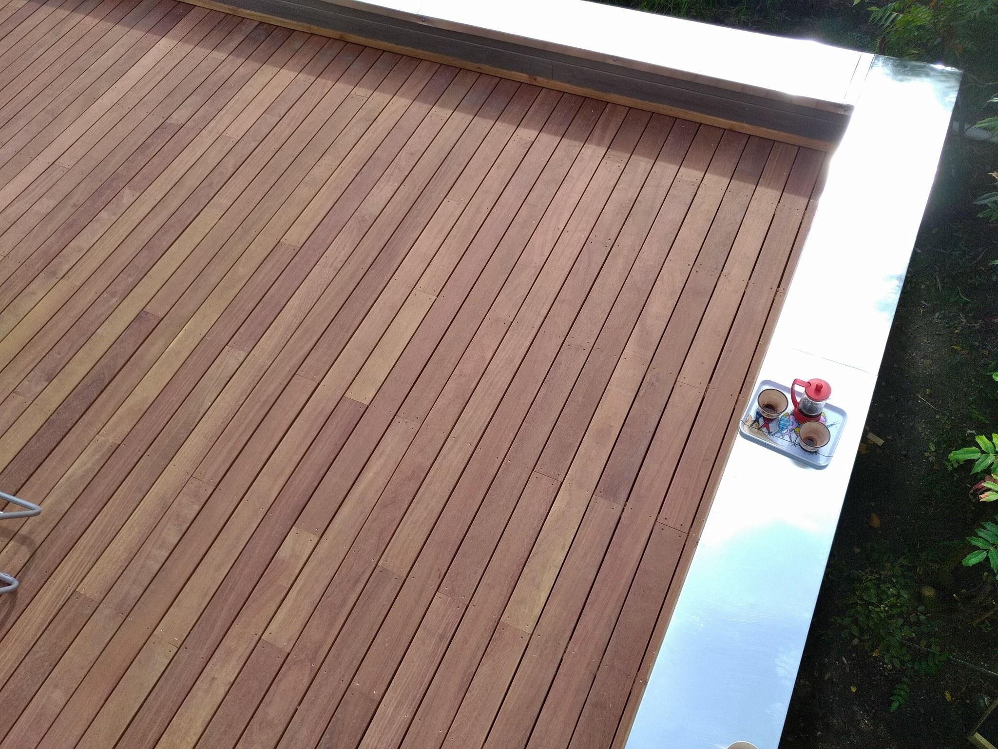 extension bois à Harfleur - la charpenterie, normandie