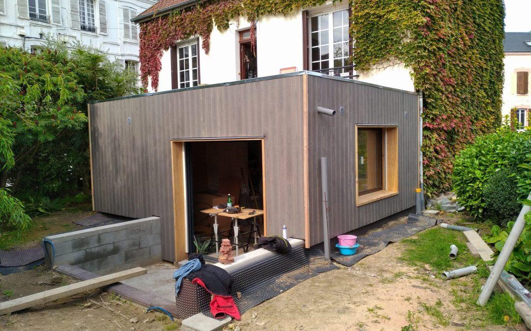 Extension bois à Harfleur