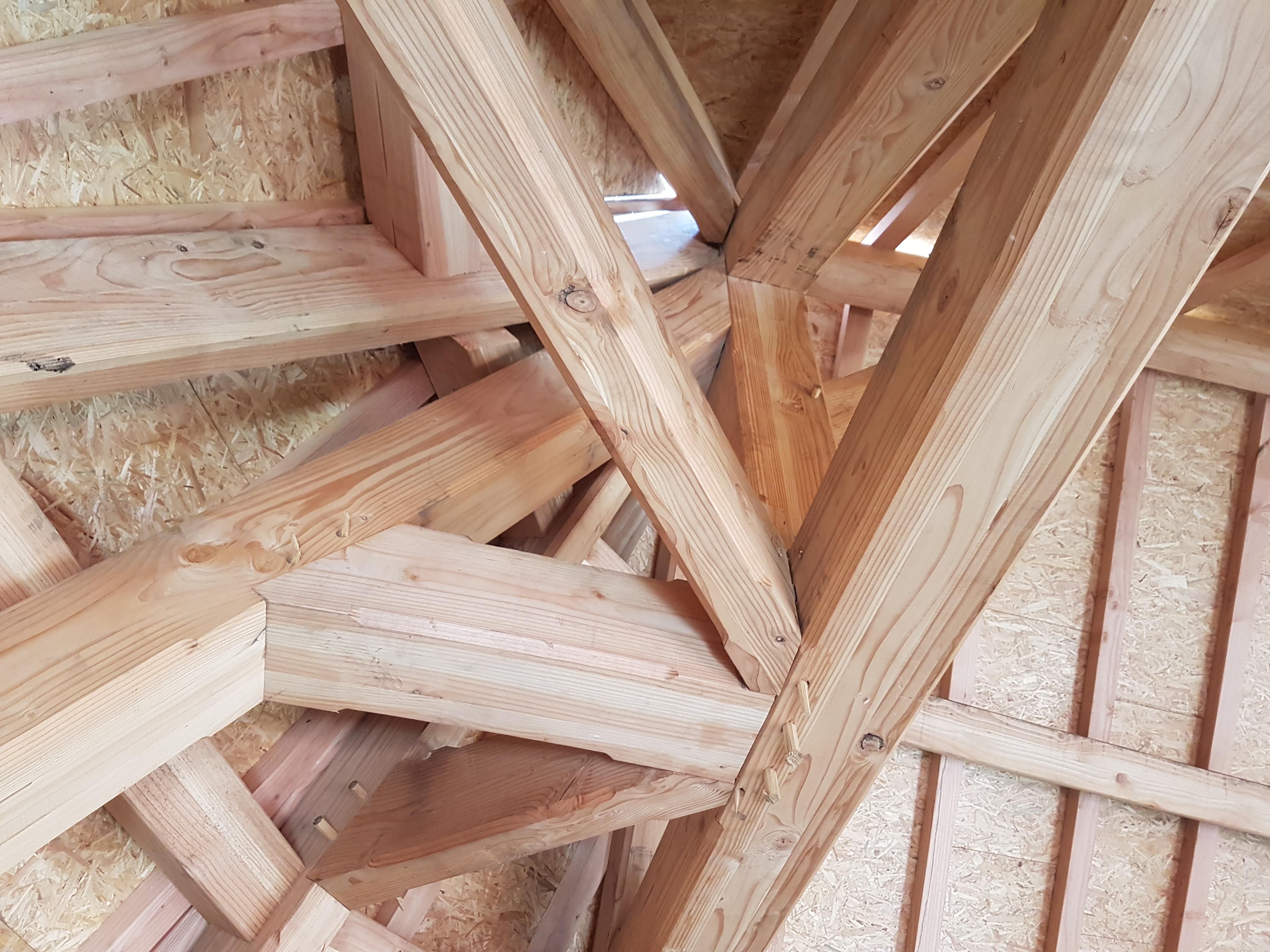 charpente traditionnelle loft fécamp projet3
