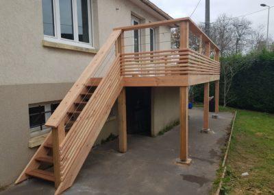 Réhabilitation d'un balcon au Havre